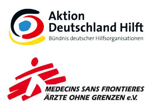Aktion Detuschland Hilft & Ärzte ohne Grenzen