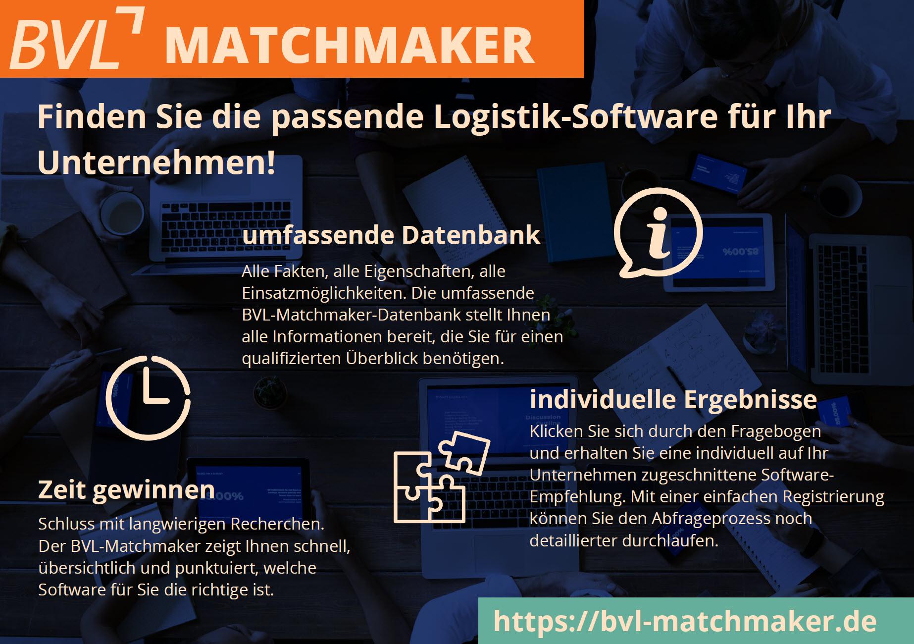 BVL-Matchmaker Flyer Beratung Christoph Groß