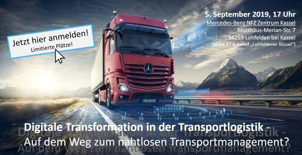 BVL Veranstaltung Digitale Transformation in der Transportlogistik