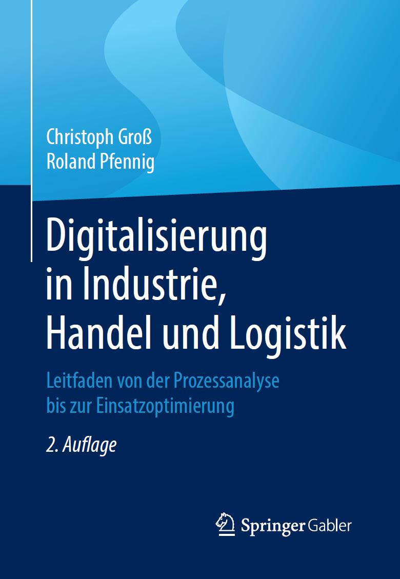 Buch Digitalisierung in Industrie, Handel und Logistik