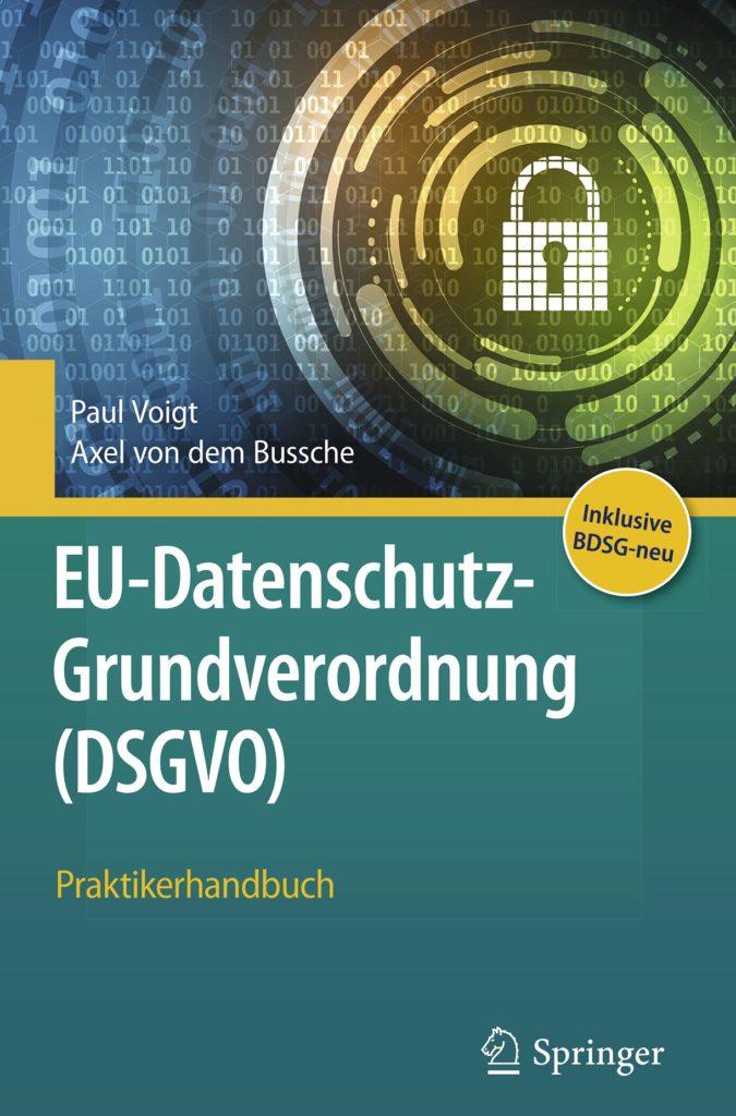 EU Datenschutz Grundverordnung DSGVO